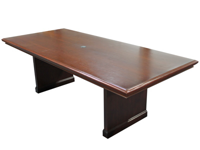 Traditional Walnut Conference Table VPOE - Conference table accessories