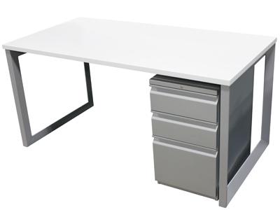 size 40 4bef6 c1b96 Refurbished White Laminate Desk