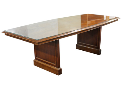 Glass Top Conference Table VPOE - Glass top conference room table